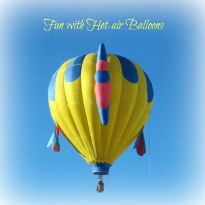 Hot air balloon activities including a fun hot air science experiment (Learning is Messy)