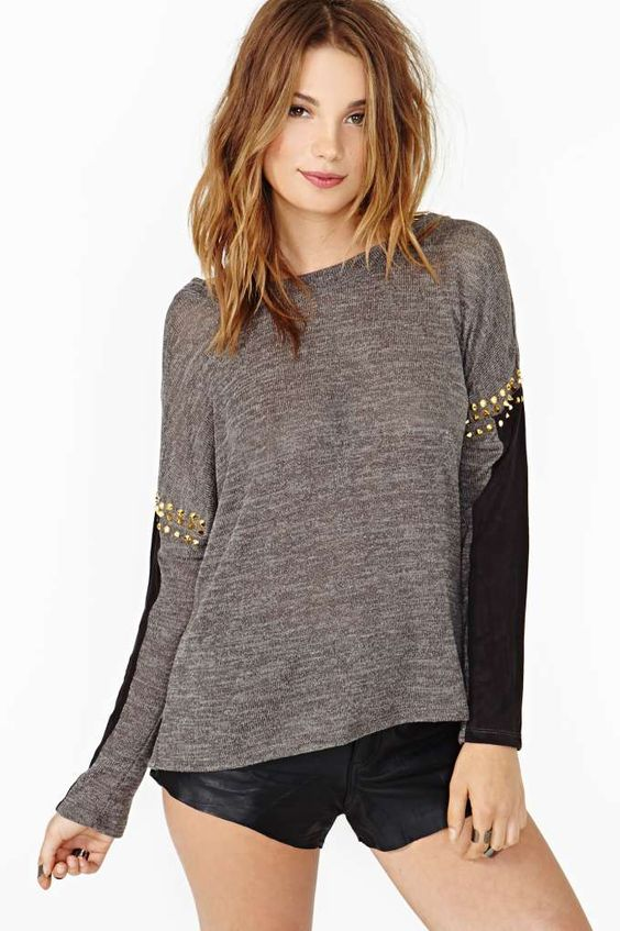 Alchemy Stud Knit
