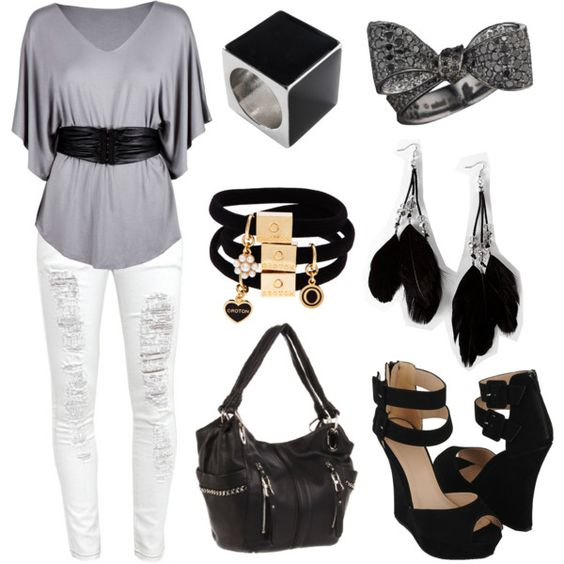 Casual 3, created by valenmafi on Polyvore