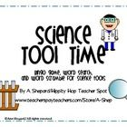 $ It's Science Tool Time- bingo game and more to practice the most commonly used science tools....