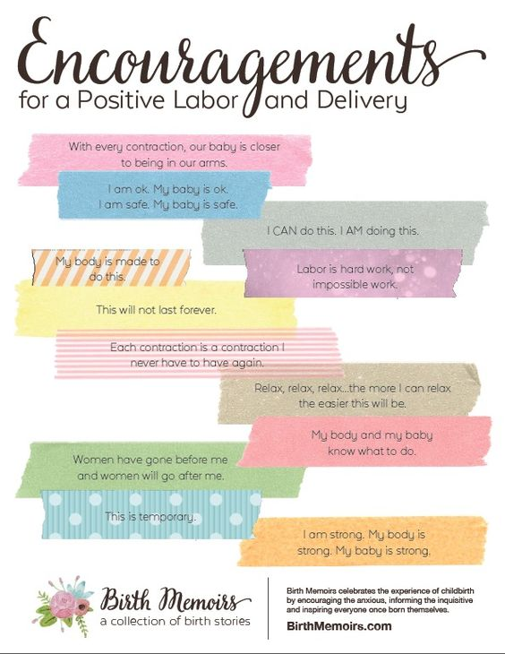 Download this free print from Birth Memoirs: Encouragements for a Positive Labor and Delivery. Stash away for future use, post in your home or pack in your hospital bag for a dose of inspiration when you need it most.