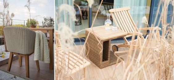 Das Wohlfühl-Konzept setzt sich auch auf der eigenen Dachterrasse fort. Bequeme Sessel und Liegeflächen bieten maximale Entspannung und Erholung    Foto: Simone Ahlers für JOI-Design    #WOHNIDEE #WOHNIDEESuiten #designedbyus #InteriorDesign mehr infos: http://blog.joi-design.com/wohnidee-suiten-von-joi-design-feiern-im-radisson-blu-koeln-mit-drei-aussergewoehnlichen-konzepten-offizielle-eroeffnung/