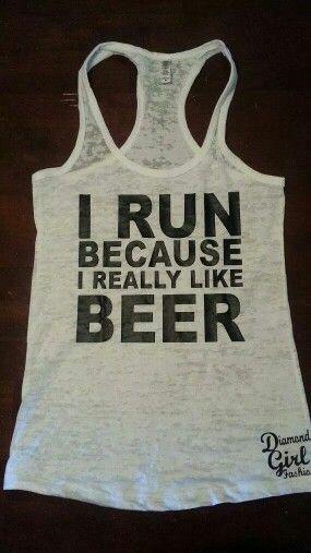 I run..