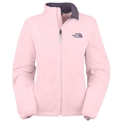 Northface light pink Fleece Osito Jacket. The color is beautiful ...