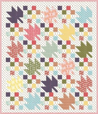 Fruition Quilt Pattern AEQ-65
