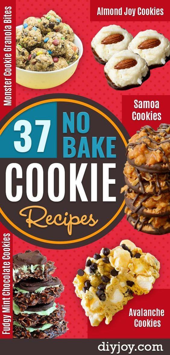 37 No Bake Cookie Recipes