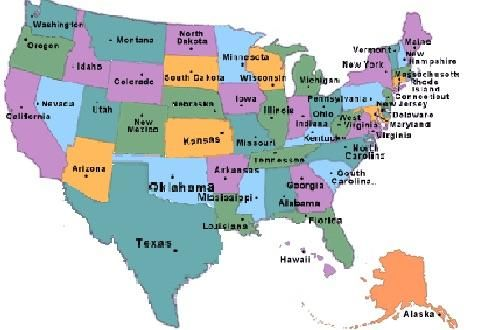 Us Map Without Wyoming How the U.S. would look like without Wyoming | Historical photos