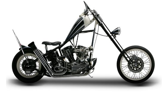 Orange County Choppers - #OCC - Black and White Bike
