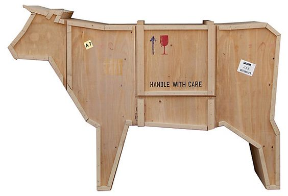 Cow Cabinet | A Nod to Mod | One Kings Lane