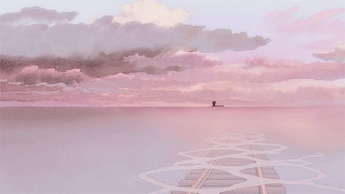 Pin By Genevy On Animation Anime Scenery Aesthetic Anime Anime Background Aesthetic anime background gif hd