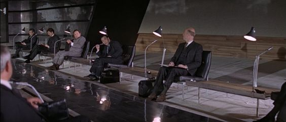 """Spectre conference room from """"Thunderball"""""""