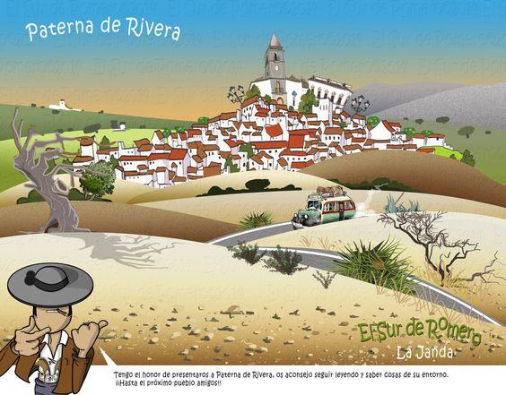 Trata sobre Paterna de Rivera, La Janda, Cádiz, Andalucía.