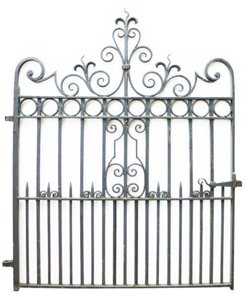 Circa 1900 Wrought Iron Pedestrian Garden Gate Uk Heritage Wrought Iron Garden Gates Wrought