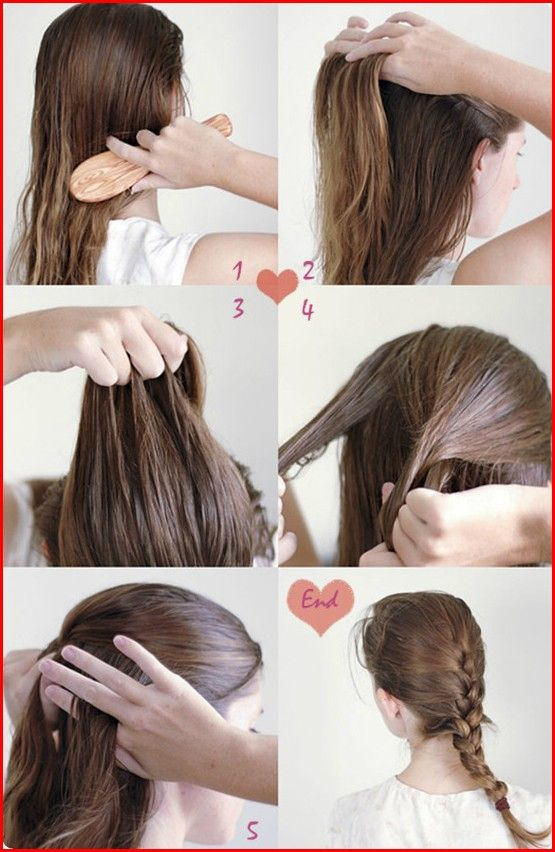 Pretty Hairstyles For Girls As Daily Hairstyle Idea Easy Hairstyles Long Hair Styles Diy Hairstyles