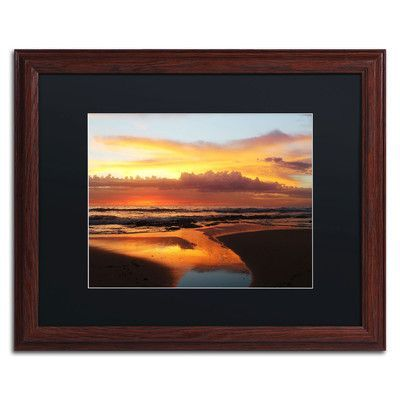 Trademark Art 'Once Upon a Morning' by Beata Czyzowska Young Framed Photographic Print Size: 1