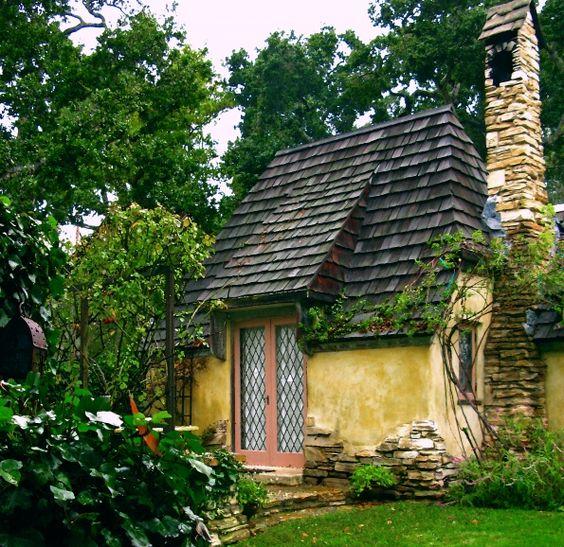Hugh Comstocks Fairytale Cottages by the Sea - Carmel, California.