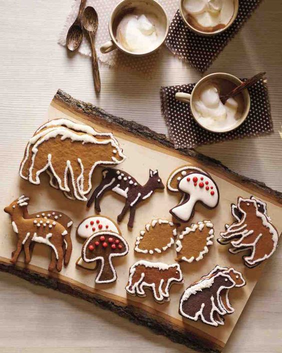 honey spice gingerbread cookies