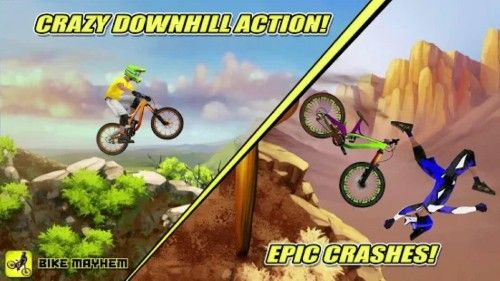 Bike Mayhem Mountain Racing 1 5 Apk Mod Apk Apkmod Bike
