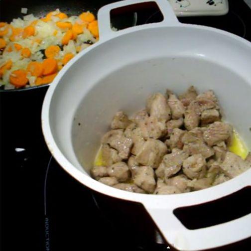 Receta de magro de cerdo al curry rojo tailandés con @lacocinadegibe
