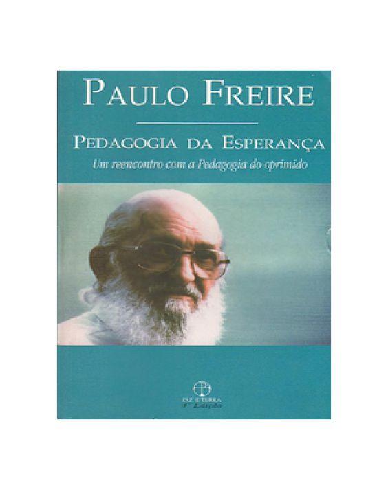 Pedagogia da esperanca