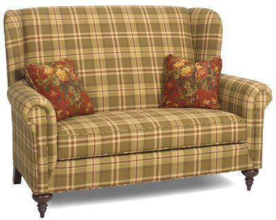 Cherry Lane Settle L 64 H 45 Reproduction Colonial Upholstered Furniture Pinterest