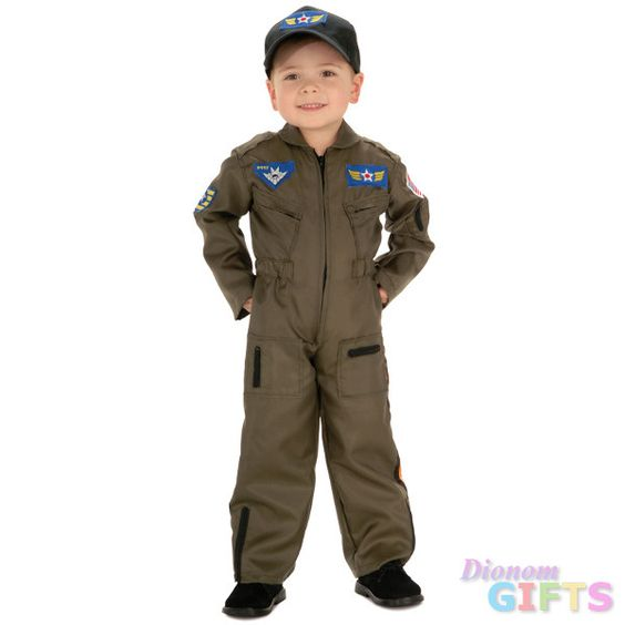 Toddler Costume: Air Force Fighter Pilot-2T/4T