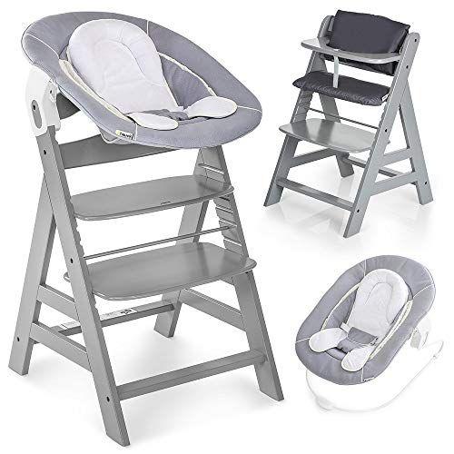 Hauck Alpha Plus Newborn Set Chaise Haute Bebe En Bois Evolutive Des Naissance Inclus Transat Pour Nouveau Ne C En 2020 Chaise Haute Chaise Haute Bebe Transat Bebe