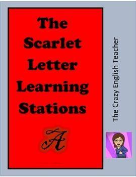 0010 The Scarlet Letter Novel Stations Scarlet, Activities