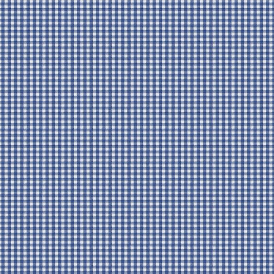 Royal Blue Gingham Fabric by the Yard #carouseldesigns