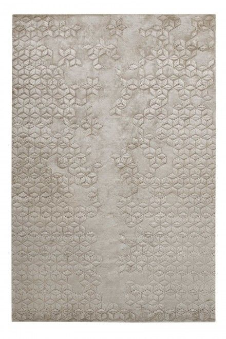 I love the negative space in this rug - Star Silk by Helen Amy Murray