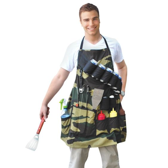 bbq apron camping gadgets gifts
