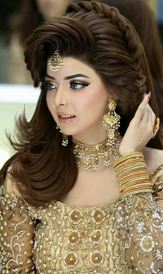Elegant and easy to make Walima hairstyle ideas for girls
