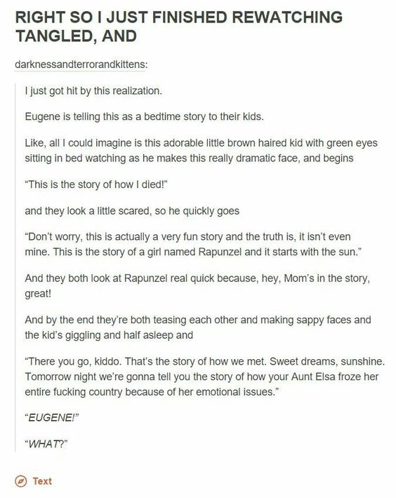 THAT'S WHAT I ALWAYS THOUGHT!!! I had started thinking it since the end of the movie when the narration is continued.