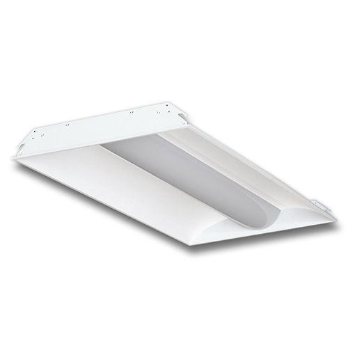 Led Troffer Light 2x4 42w 40k 50k Dlc Ul Approved 2pcs Pack Fluorescent Light Fixture Led Light Fixtures