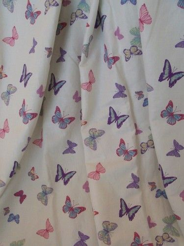 STUNNING HUGE LAURA ASHLEY SUMMER MEADOW BLACKOUT LINED CURTAINS ...