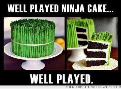 Lovely Ninja cake