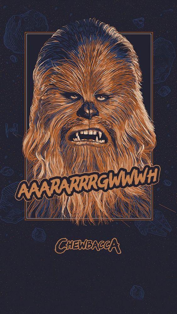 Funny Star Wars Star Wars Chewbacca Star Wars Art Star Wars Poster