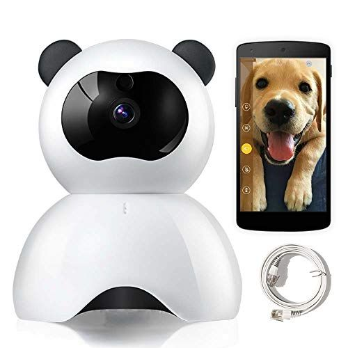 Lemfo Pet Camera Ip Camera For Dog Cat Baby Monitor 1080p Full Hd Pet Cameras That Connect With Iphone Android Wifi Home Camera With Two Way Audio Night Vis Pet Camera