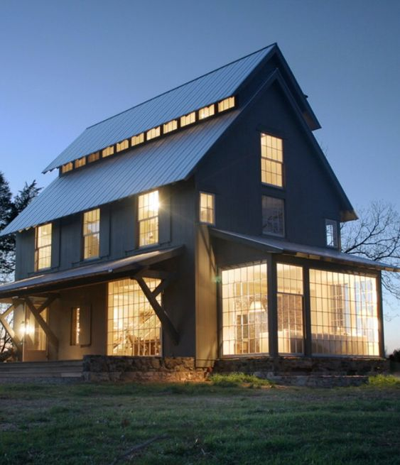 Home & Apartment, Awesome Pole Barn House Pictures With Energy ...