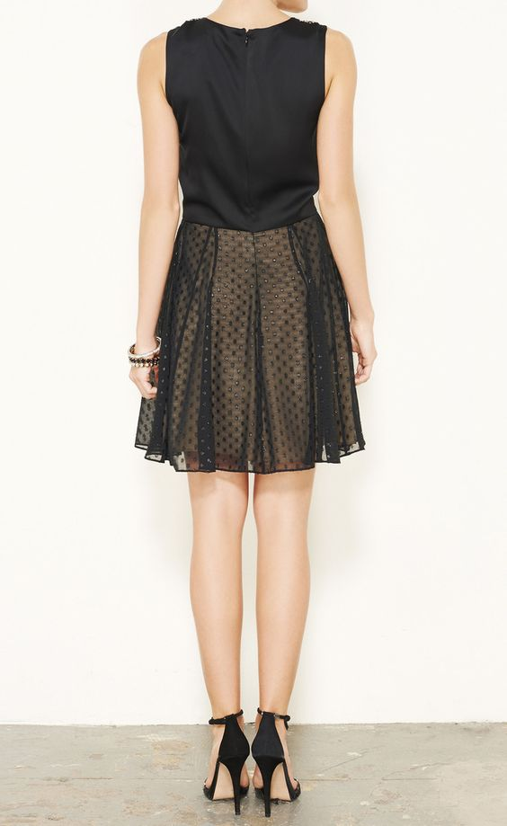 Erin Fetherston Black And Nude Dress