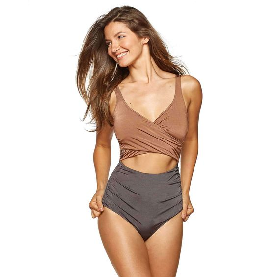 NATURAL GLOW CUTOUT ONE PIECE - EVERYDAY SUNDAY - ESML0173-AZ
