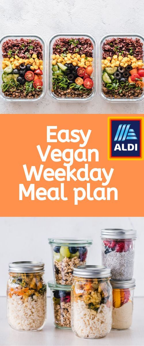 Are You Looking For Vegan Meal Prep Tips Recipes Click The Link To Watch Me Go To Shop At Aldi And Make A Full Easy Vegan Lunch Vegan Lunches Aldi