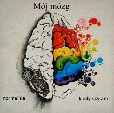 Mój mózg kiedy czytam.: