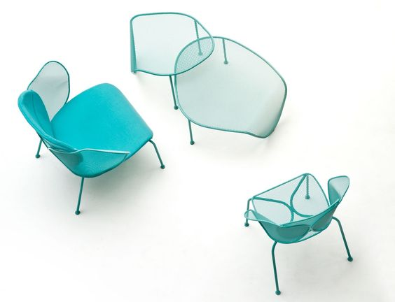 Sedia pranzo versatile Elitre chair