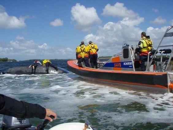 Hulpverlening aan zeiljacht 12/5/2012 - Veerse meer - Kees den Hollander