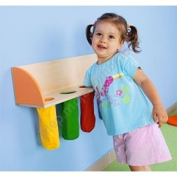 What's inside??  Idea of making a similar toy from socks and wooden board