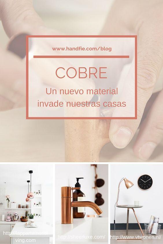 En el blog de Handfie también tenemos hueco para la inspiración. No hemos podido resistirnos a la tendencia del cobre, así que os traemos unas cuantas ideas para decorar. ¡Ponlas en marcha ya de ya y súmate a la tendencia cobriza!