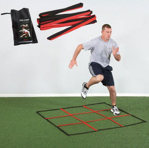 Meet The Cube A Speed And Agility Trainer That Is Easy To Set Up And Helps You Improve Your Speed Balance Training Equipment Cardio At Home Agility Training