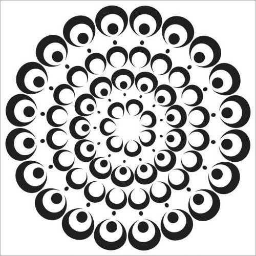 Bubble Doily Stencil by Julie Fei-Fan Balzer (TCW)