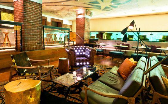 Hudson Bar, New York